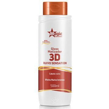 Magic Color Matizador 3D Ruivo Sensation Efeito Ruivo Intenso 500ml