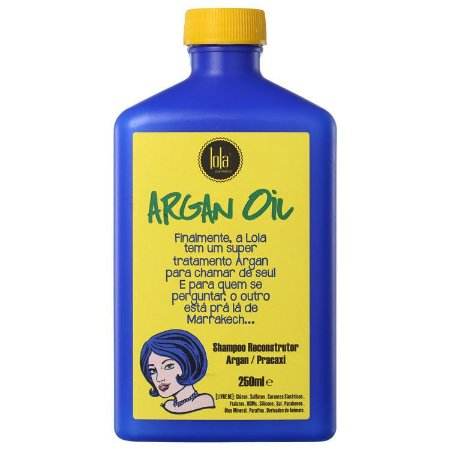 Lola Cosmetics Argan Oil Shampoo Reconstrutor 250ml