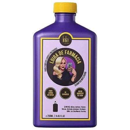 Lola Cosmetics Loira de Farmácia Matizador Shampoo 250ml