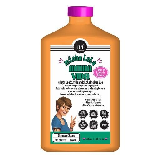 Lola Cosmetics Minha Lola Minha Vida Shampoo 500g