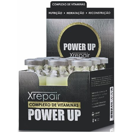 Felps Xrepair Power Up Tratamento Ampola 9x15ml