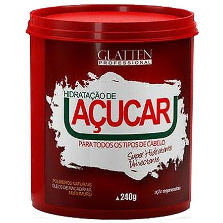 Glatten Açucar Hidratante e Umectante Máscara 240g