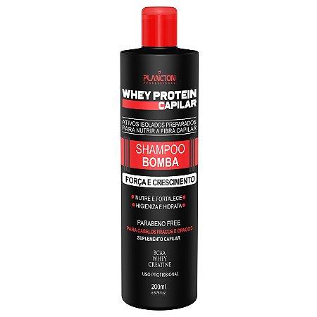 Plancton Whey Protein Capilar Bomba Shampoo 250ml