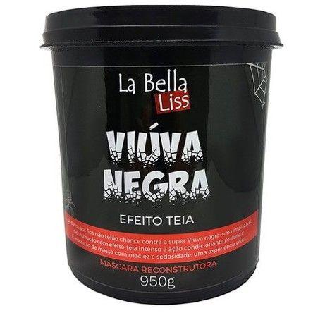 La Bella Liss Viúva Negra Efeito Teia Máscara Reconstrutora 950g