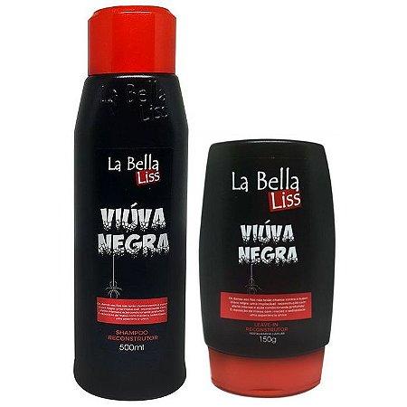 La Bella Liss Viúva Negra Efeito Teia Reconstrutor Kit (2 itens)