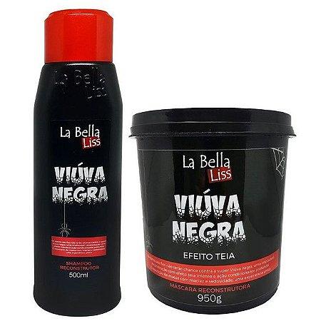 La Bella Liss Viúva Negra Efeito Teia Kit Shampoo 500ml e Máscara 950g