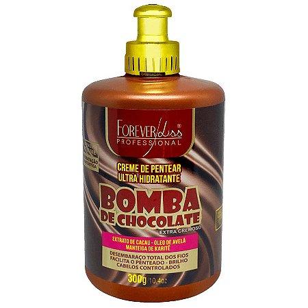 Forever Liss Bomba de Chocolate Creme de Pentear 300g