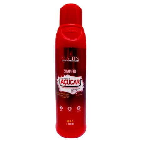 Glatten Açucar Reconstrução Shampoo 300ml