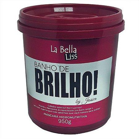 La Bella Liss Banho de Brilho Hidronutritiva Máscara 950g