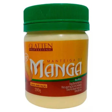 Glatten Manteiga de Manga Máscara 200g