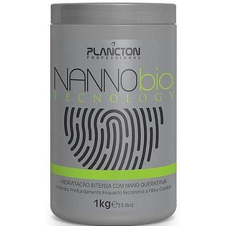 Plancton Nanno bio Tecnology Hidratação Intensa Máscara 1kg