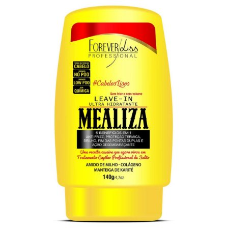 Forever Liss Maizena Capilar MeAliza Leave-in 140g