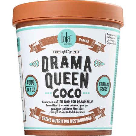 Lola Cosmetics Drama Queen Coco - Cabelos Secos - 450g