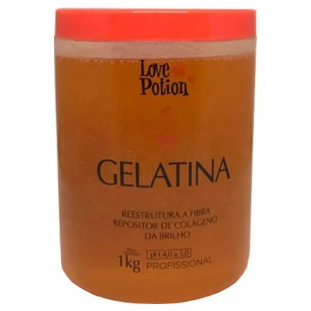 Love Potion Hidratante Capilar Gelatina 1kg