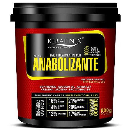 Keratinex Anabolizante Capilar Suplemento Capilar Máscara 900g
