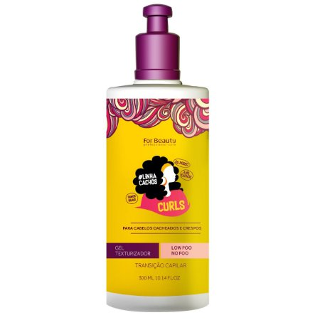 For Beauty Linha Cachos Curls Gel Texturizador 300ml