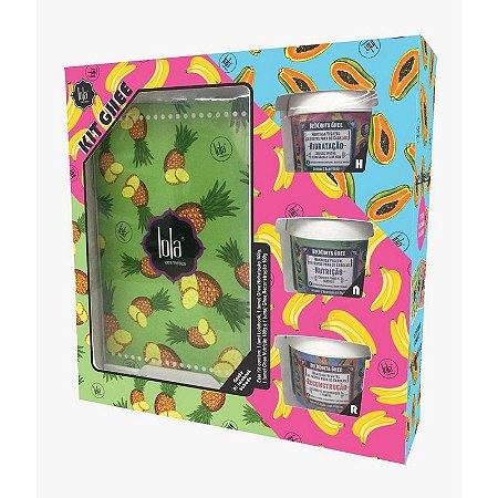 Lola Cosmetics Ghee Mini Cronograma HNR com Lolabook