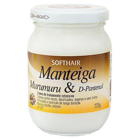 Softhair Manteiga de Murumuru e D-Pantenol 220g