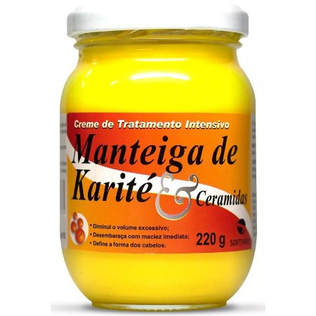 Softhair Manteiga de Karité e Ceramida 220g