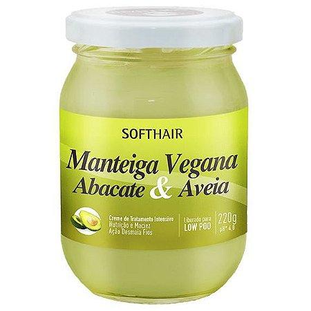 Softhair Manteiga de Abacate e Aveia 220g