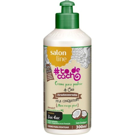 Salon Line Tratamento pra Conquistar Creme de Pentear de Coco 300ml