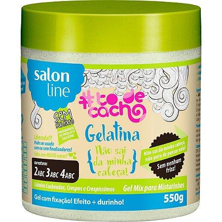 Salon Line #To De Cacho {Não sai da minha cabeça!} Gelatina 550g