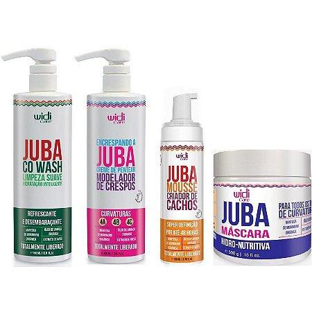 Widi Care Juba kit Crespos (4 itens)