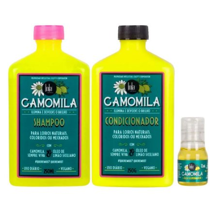 Lola Cosmetics Camomila Kit (3 itens)