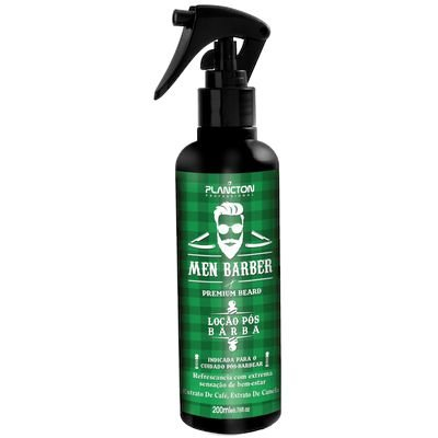 Plancton Men Barber Shaving Loção Pós Barba 200ml