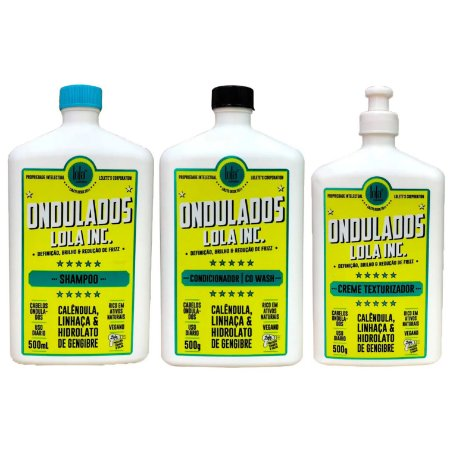 Lola Cosmetics Ondulados Kit 3x500ml/g