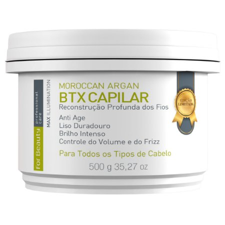 For Beauty Moroccan Argan Btx Capilar 500g