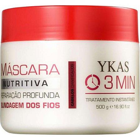 Ykas 3 minutos Nutrição Máscara 500ml