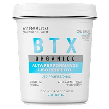For Beauty Btx Argan Orgânico 250g