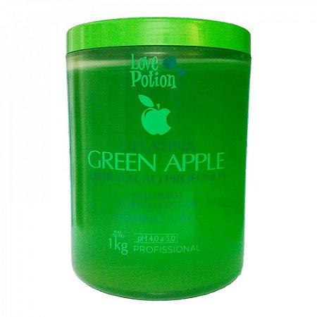 Love Potion Gelatina Hidratante Green Apple 1kg