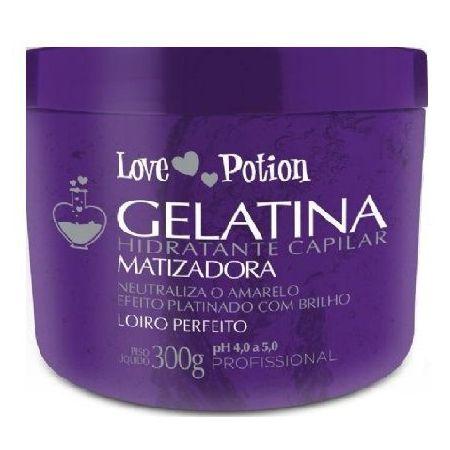 Love Potion Gelatina Hidratante Capilar Matizadora 300g
