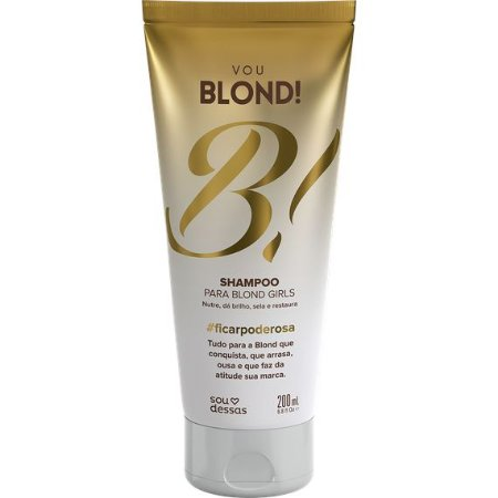Sou Dessas Vou Blond Shampoo 200ml