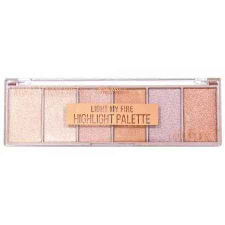 Ruby Rose Powder Highlighter Paleta Iluminadora HB-7512 18g