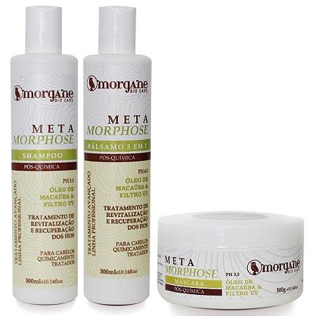 Morgane Metamorphose Kit Pós Química (3 Itens)