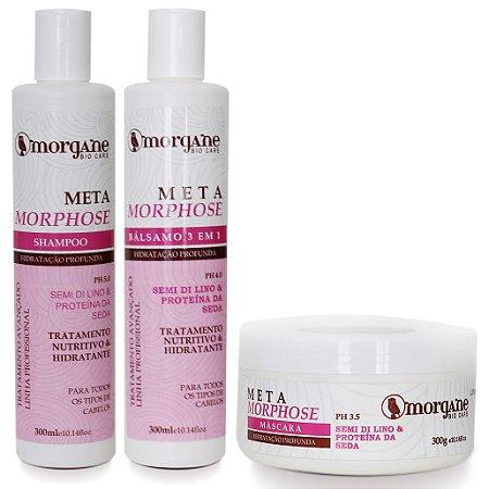 Morgane Metamorphose Kit Hidratação Profunda (3 Itens)