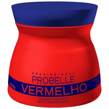 Probelle Vermelho Mascara Tonalizante 250g