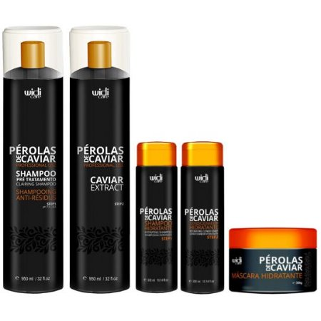 Widi Care Pérolas de Caviar Progressiva com Manutenção (5 itens)
