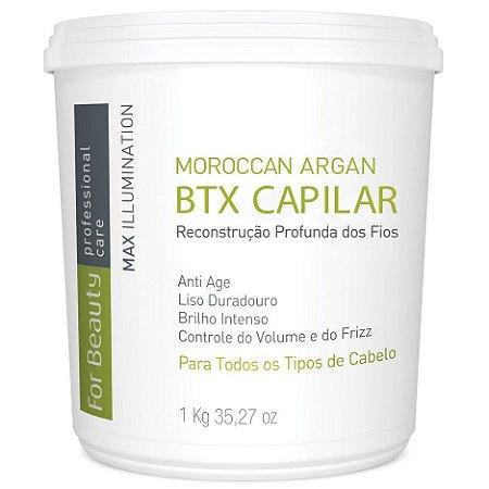 For Beauty Moroccan Argan Btx Capilar 1kg