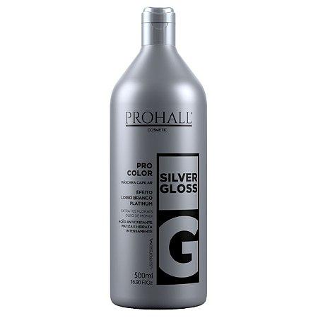 Prohall Máscara Matizadora Silver Gloss 500ml