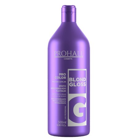 Prohall Máscara Matizadora Blond Gloss 500ml