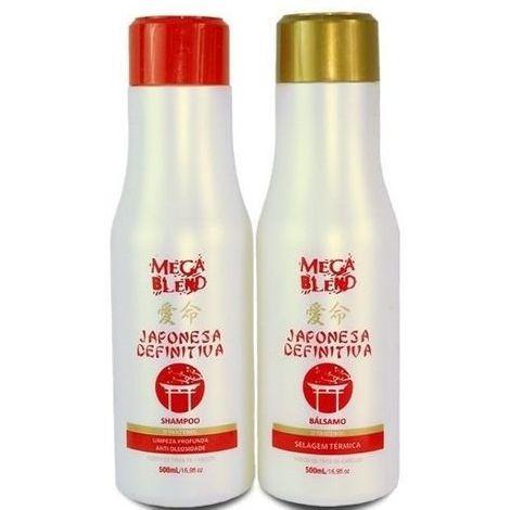 Mega Blend Japonesa Definitiva Escova Progressiva 2x1L