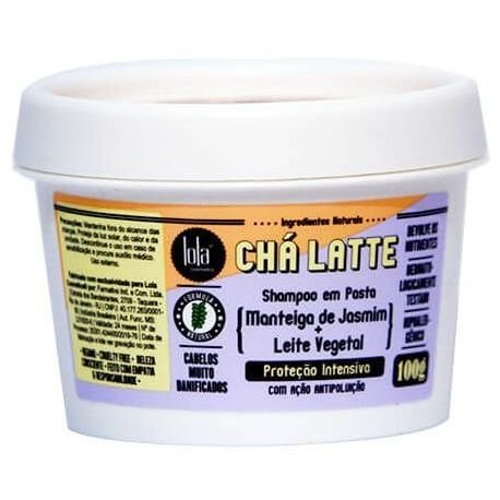 Lola Cosmetics Cha Latte Shampoo de Jasmim 100g