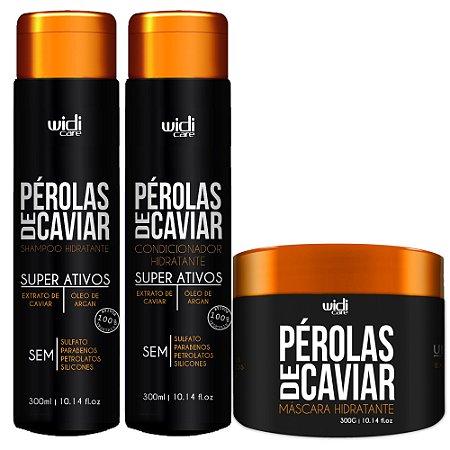 Widi Care Perolas de Caviar Manutenção Home Care (3 itens)