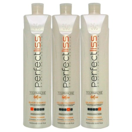 VisatHair Perfect Liss Escova Progressiva de Turmalina 3x1l