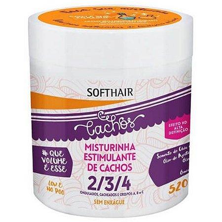 Softhair Creme de Pentear Misturinha Estimulante 520g