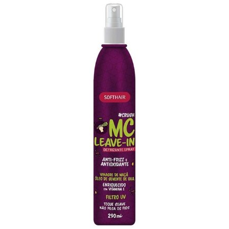 Softhair Defrizante MC Leave-in #Crush Vinagre de Maça 290ml